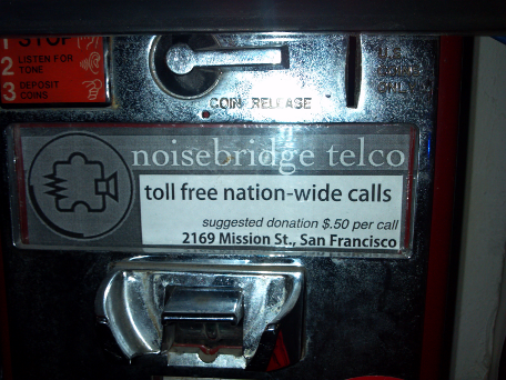 Red Payphone graphic, circa 2011