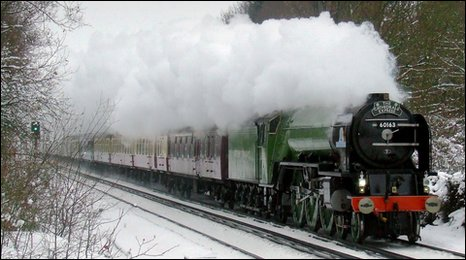 To a Locomotive in Winter