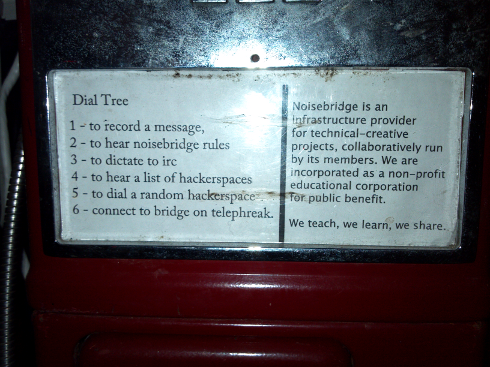 Red Payphone dialplan, circa 2011