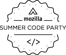 """Mozilla Webmakers Summer Code Party Logo"""