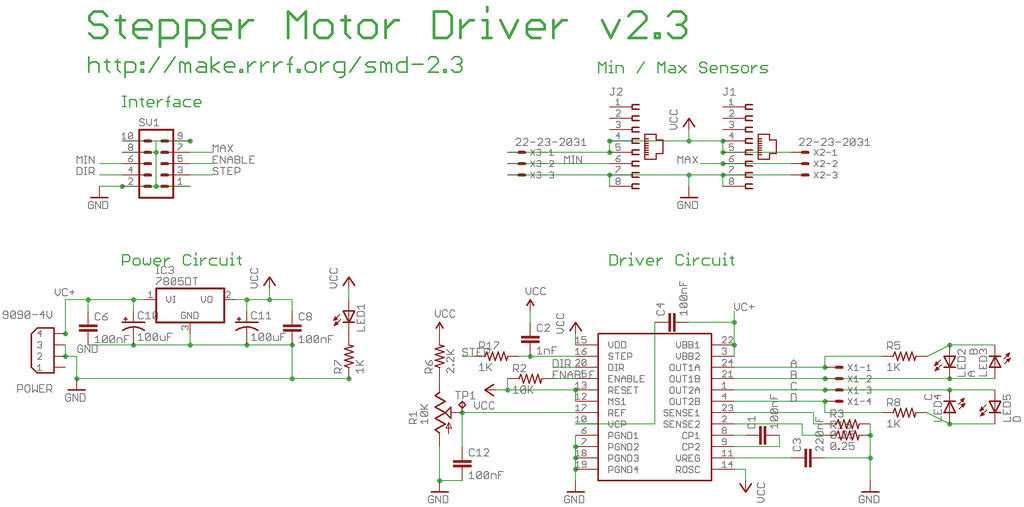 Stepper driver schematic