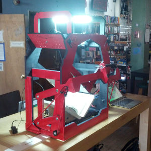 Bookscanner Noisebridge